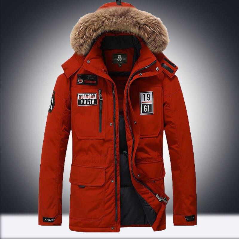 Winter Men   Down     Coats   Boy Winter   Down   Jacket With Pockets Male Winter Outerwear Boy Snow-wear