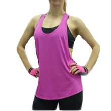6 color summer sexy women vest fast drying loose sleeveless vest for health T-shirt pl01 singlet for fitness