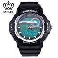 Sport Watches Men LED Digital Dual Time Wristwatch Male Clock 50M Waterproof Casual Watch Quartz Military Watch Army Gift WS1503