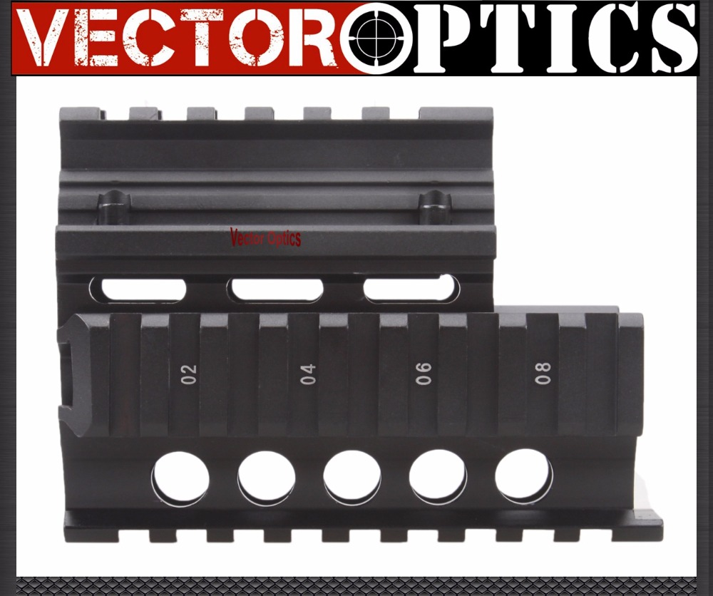 Vector Optics Tactical Mini Draco Pistol Krinkov AK RIS Handguard Quad Rail Mount Gun Accessories