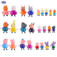 Pink Pig Peppa Toys George Action Figure Pepa Original Pelucia Anime For Kids