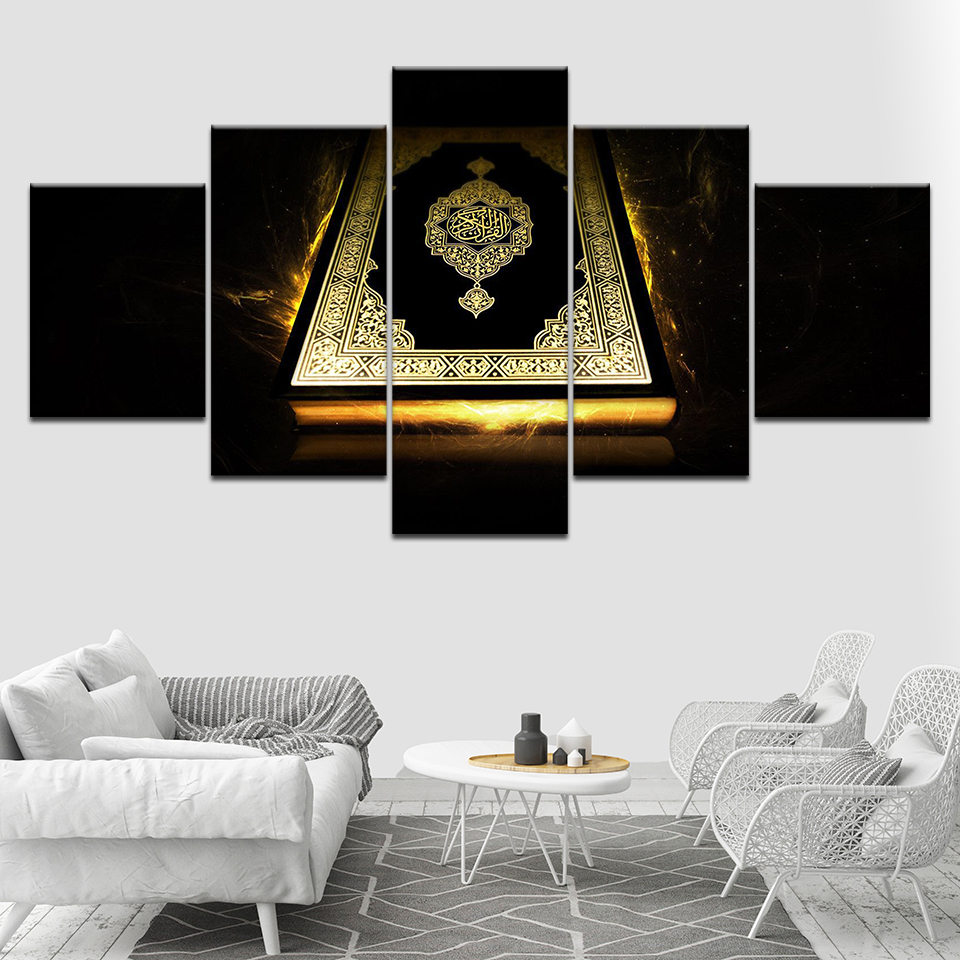 Modern-Prints-Wall-Art-Posters-Modular-Canvas-Islam-Pictures-5-Pieces-Ancient-Bible-Paintings-Decor-For (1)