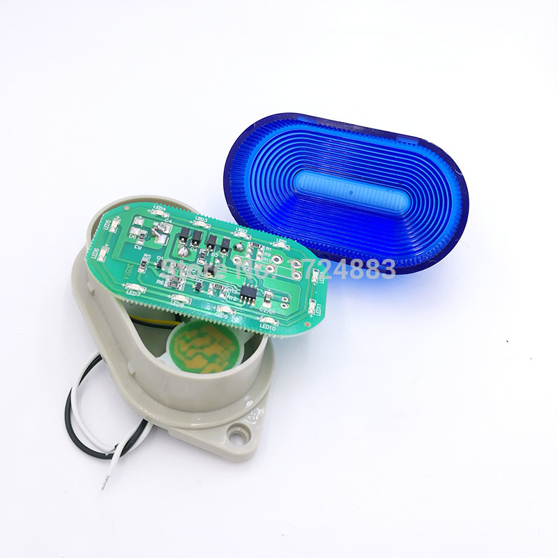 Купить с кэшбэком Buzzer Strobe Signal Warning light TB40 N-3051J 12V 24V 220V Indicator light LED Lamp small Flashing Light Security Alarm IP44