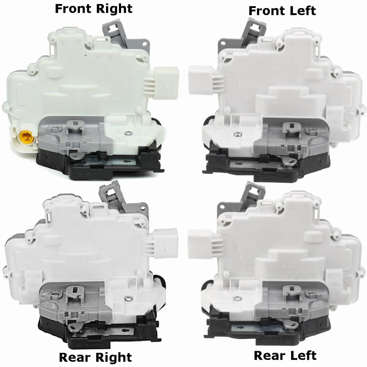 7 8 9 pin спереди и сзади справа налево Мощность Дверные замки Привод для Audi/VW A4 A5 Q3 Q5 q7 TT 2010 2011 2012 2013 2014 2015 2016 2017