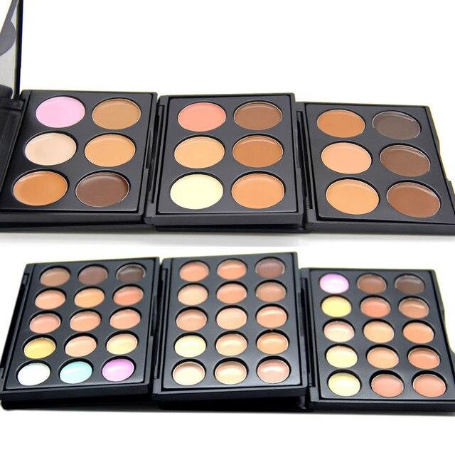 FOONBE Maquiagem Kontur Paleti Yüz Krem Renkli Makyaj Kapatıcı Paleti Sihirli Yüz Kozmetik Makyaj Aracı