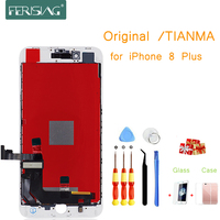 i8Plus OEM/Tianma LCD Display For iphone 8 Plus 8P LCD Screen Display Factory Part Glass Touch Panel Digitizer Assembly Complete