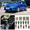 Tcart 8pcs Error Free Auto LED Bulbs Car Interior Lighting Kit White Reading Lamp Indoor Lights