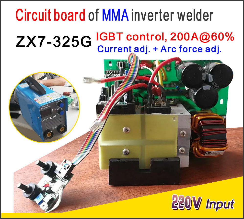 Zx7 315 Igbt Control Pcb Single Board For Mma Welding Machine Arc Diagram Homemade Inverter Welder Ac220v Power Input