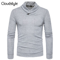 Cloudstyle 2017 New Solid Color Pullover Men V Neck Sweater Men Sweaters Wool Casual Dress Brand