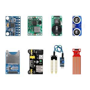 Image 3 - Для arduino 45 в 1 сенсор s модули стартовый набор для Arduino лучше, чем 37 в 1 набор датчиков UNO R3 MEGA2560 ультразвуковой датчик