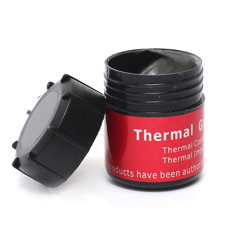 High Conductivity Thermal Heatsinks Grease Paste Tin 20g Heat Dissipation Silicone Fluid In Bulk Cooling Cooler for Computer CPU 300x300x0 025mm high heat conducting graphite sheets flexible graphite paper thermal dissipation graphene for cpu gpu vga