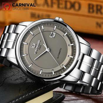 Reloj Hombre 2017 KARNEVAL Luxusmarke Herren-automatische mechanische Uhren Männer Casual modus-business Uhr männer Relogio