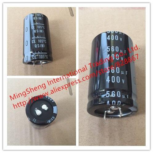 Original new 100% 400V560UF Japan 560UF 400V 30X50 QS nijikang capacitance 105 degrees  (Inductor)