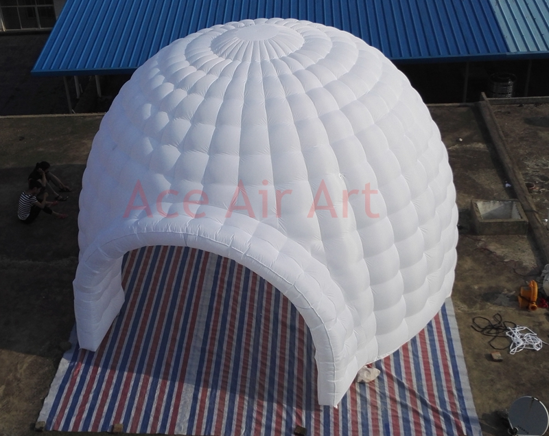 newest collection ba815 58d1e US $1280.0 |Wonderful White Pop Up Igloo inflatable tent for Event or  Party-in Ballons & Accessories from Home & Garden on Aliexpress.com |  Alibaba ...
