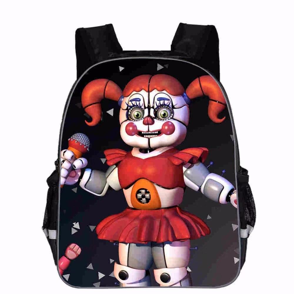 Cute Cartoon Five Nights At Freddy Backpack Teenager FNAF School Bags Men Women Five Nights At Freddys Bag Preppy Sucksack
