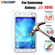 High Quality Premium 9H HD 0.26MM Tempered glass For Samsung Galaxy J5 2015 SM-J500F No Fingerprint Screen Protector Glass Film