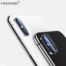 YWEWBJH For iPhone X XS XR max iPod Touch6 Accessory Back Camera Lens Screen Protector Tempered Glass Film 8