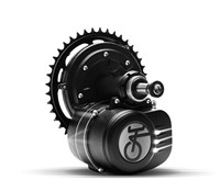 Electric Bicycle Motor Mid Center Motor With Coaster Brake 250W 36V VLCD5 Tongsheng TSDZ2 Middle Drive Motor Kit E Bike For Bike