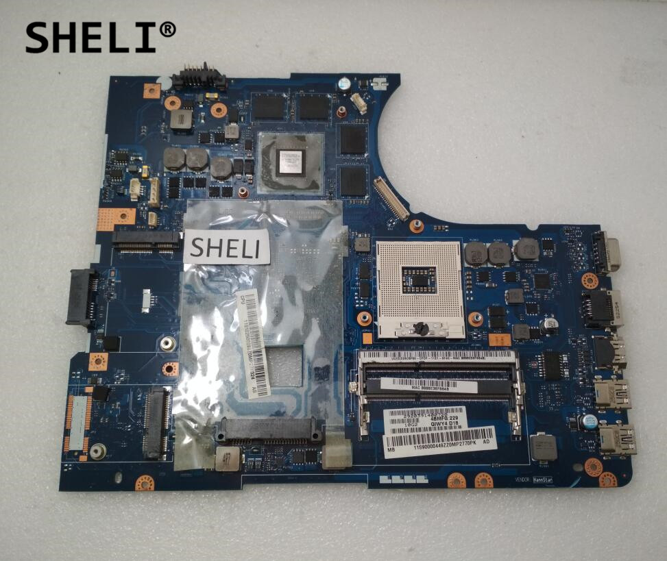 SHELI For Lenovo Y580 Motherboard with N13E-GE-A2 GTX660M LA-8002P 90000449 n10p lp a2 n10p gs a3 n10p ge a2 n10p ge a3 page 4