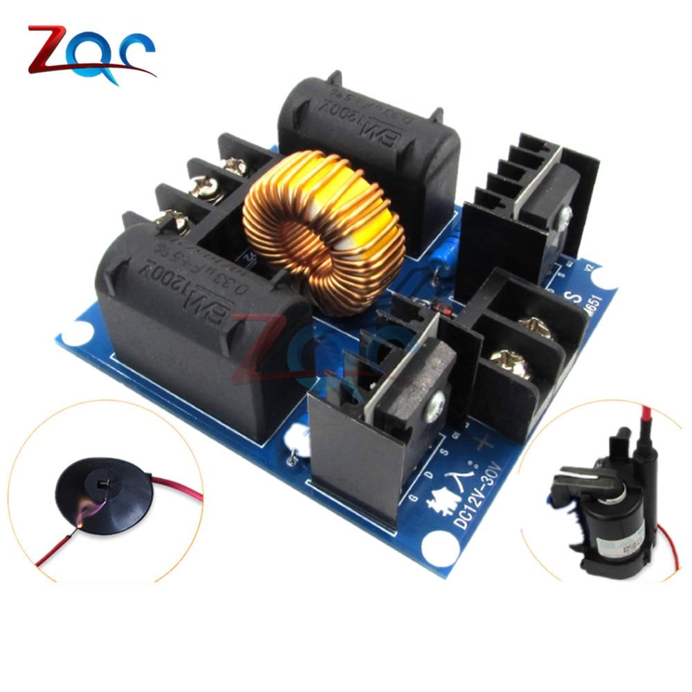 ZVS Tesla Flyback Driver Board Coil Marx Generator DC 12V-30V 20A 1000W High Voltage Power Supply Assembled Board все цены