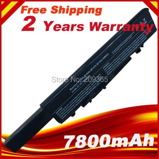 7800 mAh batterie d'ordinateur portable pour Dell Studio 1535 1536 1537 1555 1557 1558 PP33L PP39L 312 - 0701 312 - 0702 KM958 KM965 MT264 WU946