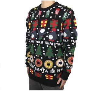 Image 3 - Divertente Lavorato A Maglia Pinguino Ciambelle Brutto Maglione Di Natale per Gli Uomini e Le Donne degli uomini Svegli Maglia Ugly Natale Pullover Maglione di Grandi Dimensioni s XL