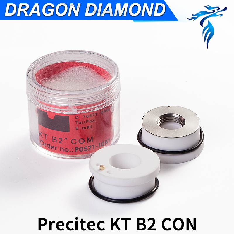 28/24.5mm 32/28.5mm Ceramic Nozzle holder Laser KT B2 CON P0571-1051-00001 For Precitec Laser Cutting Head