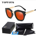 Bright female sunglasses Polarized Sunglasses fashion sunglasses mirror pattern glasses