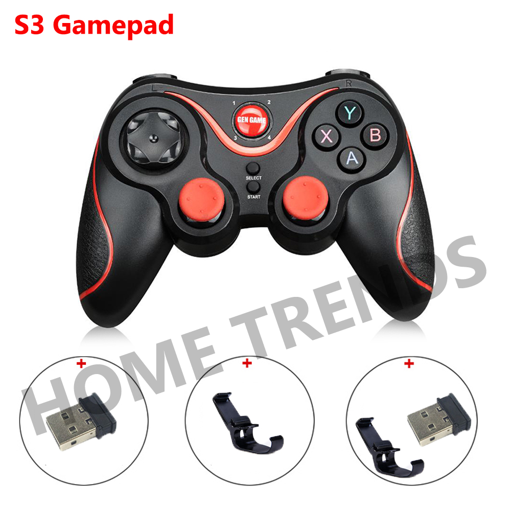 S3 Smart Phone Game Controller Wireless Joystick Bluetooth 3.0 Android Gamepad Gaming Remote Control for phone PC Tablet