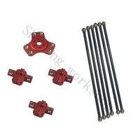 Kossel k800 magnetic effector, carriage, 180mm carbon tube Diagonal push rods full kit for DIY kossel 3D printer