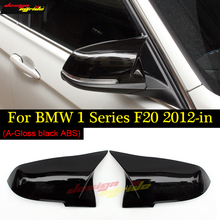 For BMW F20 Mirror Cover ABS / Gloss Black Replacement 116D 118i 120i 125i 128i 135i Covers 2012-2018