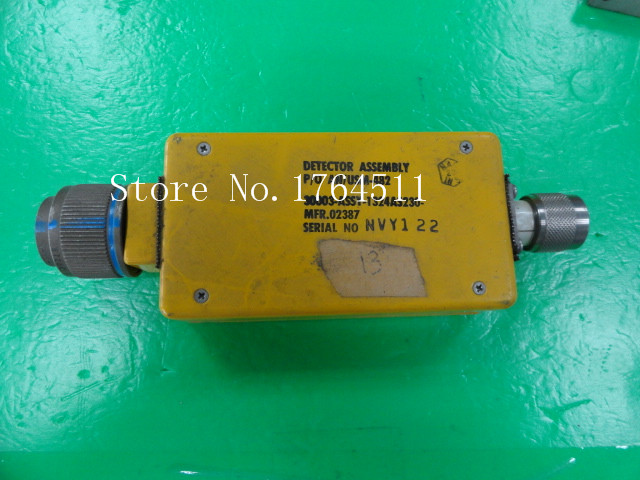 [BELLA] DETECTOR ASSEMBLY AN/USM-482 30003-ASSY-1324AS230 RF Detector
