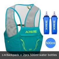 2.5L Unisex Aonijie Lightweight Backpack Running Vest Nylon Bag Cycling Marathon Portable Ultralight Hiking