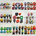 Mix Models 8pcs/lot  Mickey Super hero Avengers South Park Minions Monster shoe accessories shoe charms fit croc JIBTZ  gift