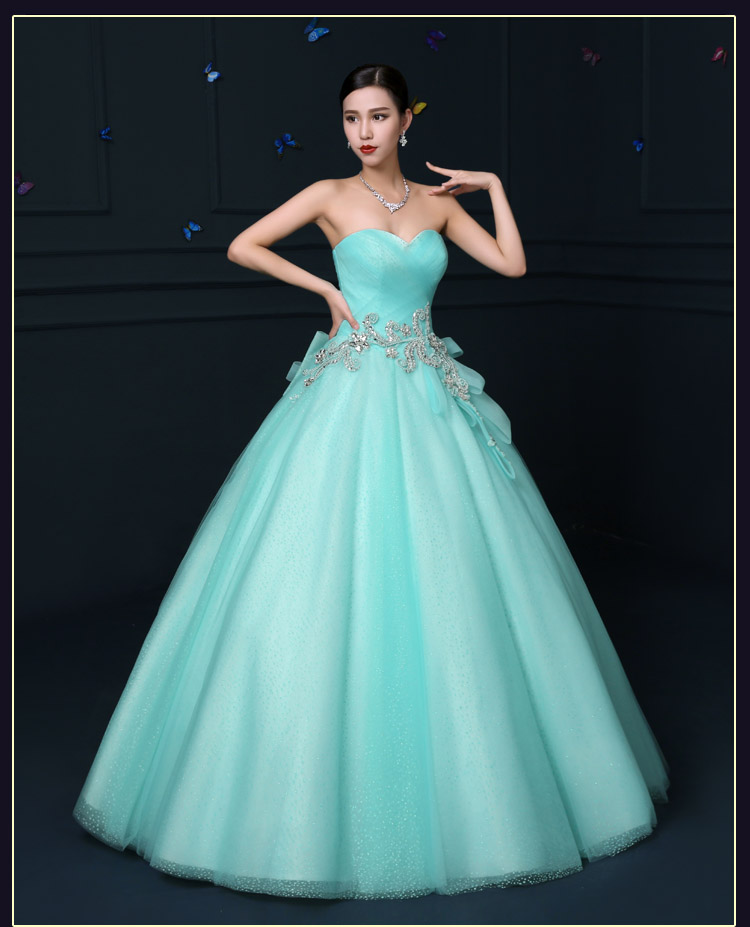 Popular Mint Green Quinceanera Dresses 2015-Buy Cheap Mint Green ...