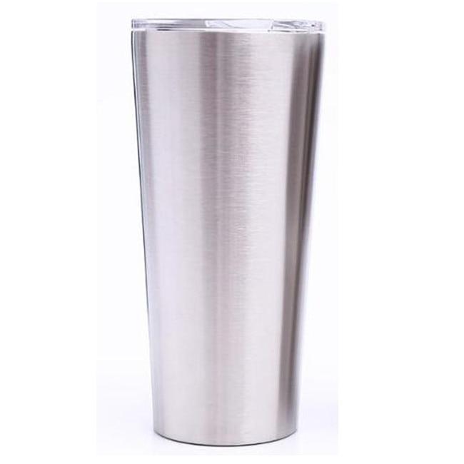 25 piezas 24oz 20oz 16oz vaso de vacío taza de café de acero inoxidable doble pared de vacío aislado tazas de cerveza vasos de vacío tazas-in Tazas from Hogar y Mascotas    2