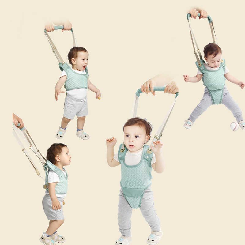 Bebê walker criança arnês assistente mochila crianças andando aprendizagem cinto levanta-se trelas cinta asas 10-36 meses