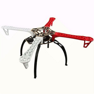 Image 2 - Qx motor F450 rama quadcoptera ze zintegrowanym zestawem pełnego zestawu PCB RC hobby DIY quad drone FPV zmontowana klasa quadrocoptera