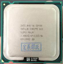 Intel Core 2 Duo Processor E8400 (6M Cache, 3.00 GHz, 1333 MHz FSB)SLB9J EO LGA775 Desktop CPU Intel central processing unit(China)