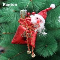 Christmas 19cm Gold Cloth Christmas Decoration Gift Bag Christmas Tree Decoration Gift Bag Gift Pack 30g