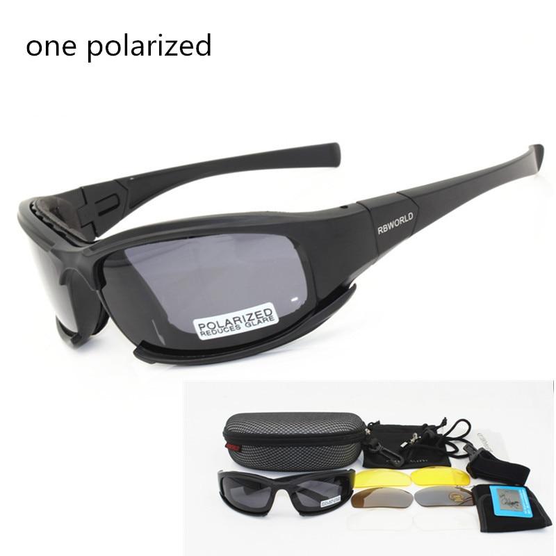 X7 Army Goggles Sunglasses Men Military Sun glasses Male 4 Lens Kit For Men s War