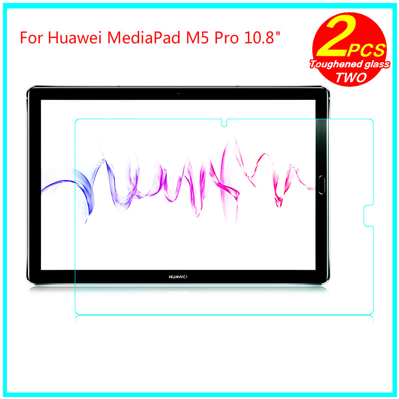 "For Mediapad M5 10 10.8 pro Toughened Tempered Glass membrane For Huawei MediaPad M5 Pro 10.8"" Steel film Screen Protect thumbnail"