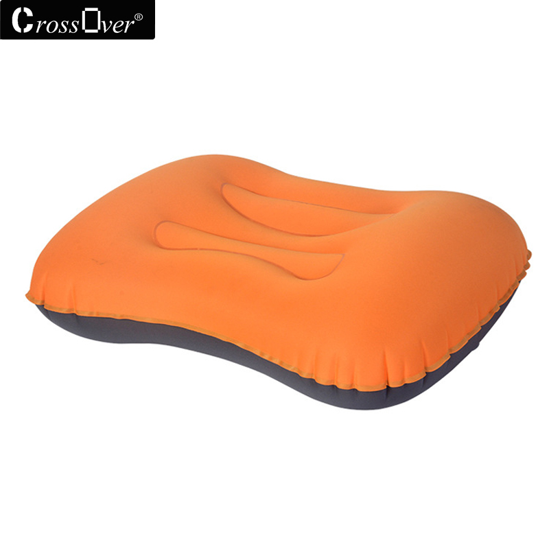 Innovative products Inflatable pillows air soft cushion body back support Foldable blow neck pillow trip portable Travel pillow