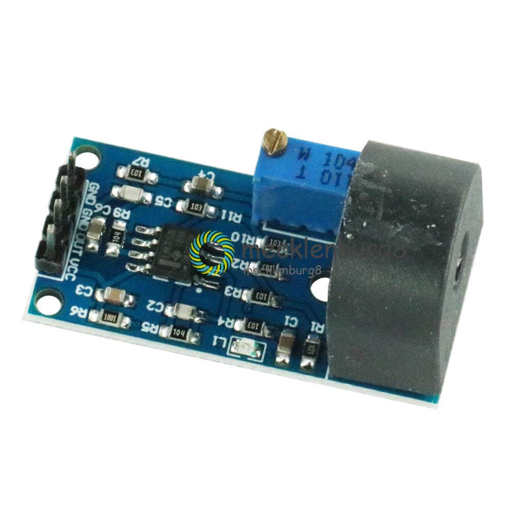 5A Range Single Phase AC Active Output Onboard Precision Micro Current Transformer Module Current Sensor For Arduino ZMCT103C