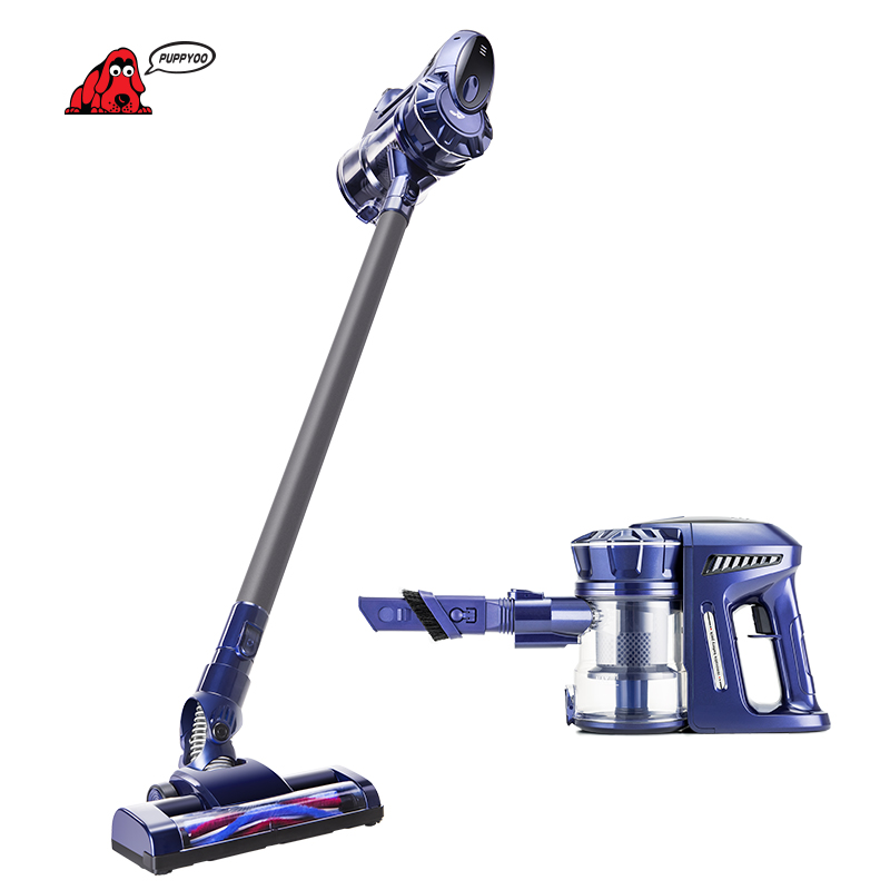 puppyoo cordless handheld home vacuum cleaner wireless aspirator for home lithium charging wp536. Black Bedroom Furniture Sets. Home Design Ideas