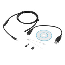 2017 5.5mm 6 LEDs 720P Android USB Endoscope IP67 Waterproof Inspection With 1.5M Cable CD Driver Borescope Vedio Camera hot new