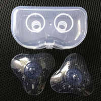 1Pair Nipple Cover Materinity Supply Nipple Shield Breast Pump Accessories Nipple Breast-Feeding Protector cover Dorpshipping