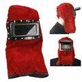 Ajustável de Couro Confortáveis Óculos de Lente Máscara Capacete de Soldagem Capa Sobrecarga de Trabalho Protegido Com Segurança de Segurança Roupas