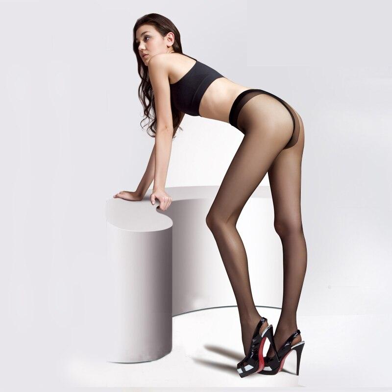 0dfba08473132 Women Sexy Silk Tights Stockings Lady Transparent Exotic Large Elastic  Black Pantyhose