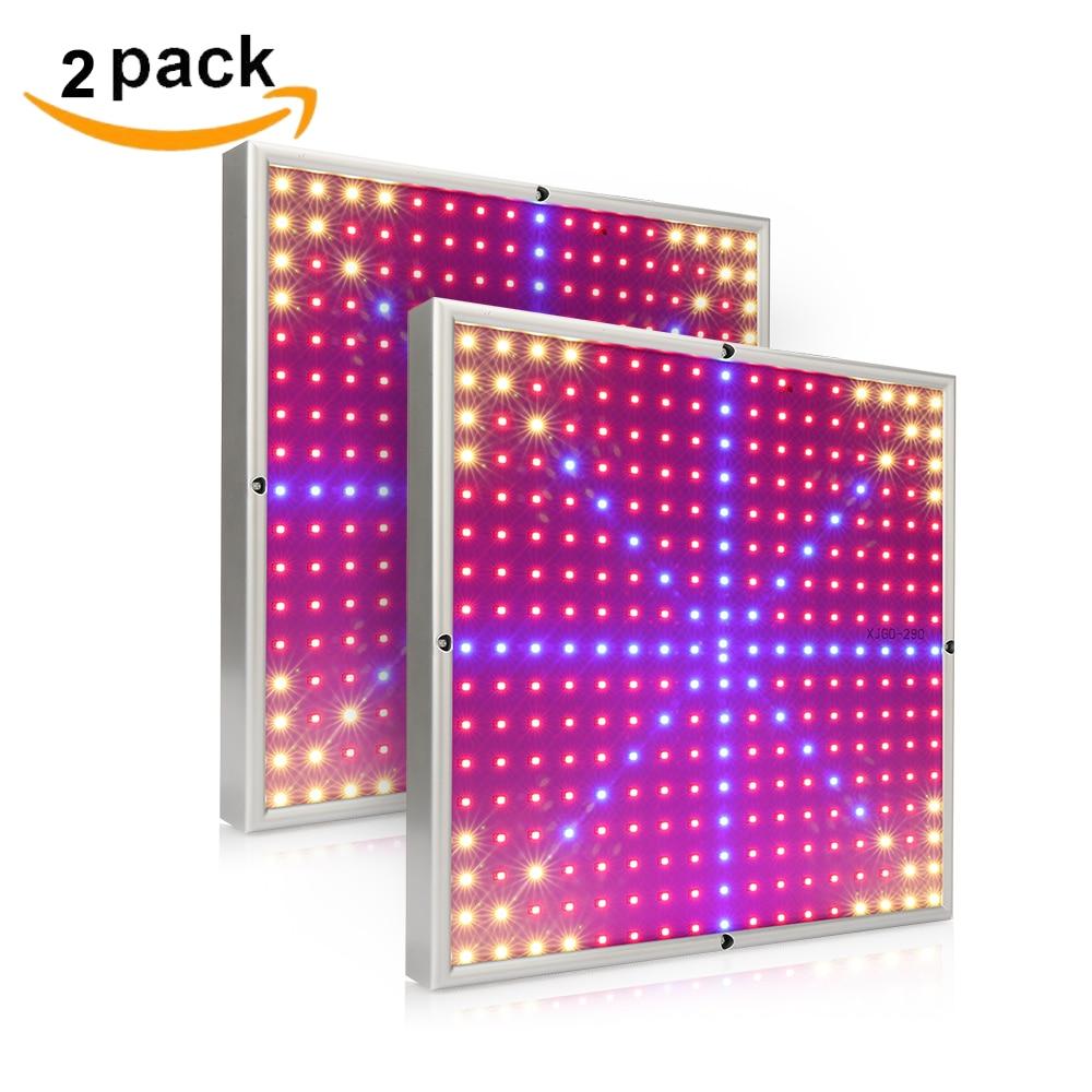 2pcs / Pack طیف کامل 30W LED رشد لامپ گیاهان فیتولامپی برای هیدروپونیک داخلی گلخانه رشد چادر گلخانه